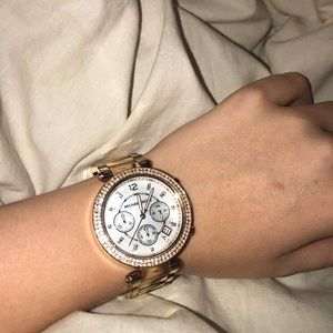 Ross gold Michael Kors watch